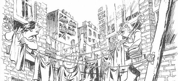 Will Eisner y el barrioinfinito